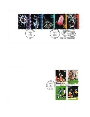 Lot of 16 Large Combo First Day Covers