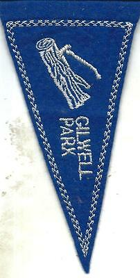bp 03 Boy scout - badge Gilwell Park - Guidoncino - anni 70 -  14x8