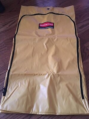 Rubbermaid Commercial Cleaning Cart Bag 24 Gallon Yellow 1966719