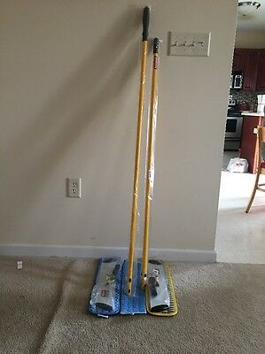 "Rubbermaid Hygen 18"" Mop Q750 Two Q560 tw0 Q810 Q410 Q749"
