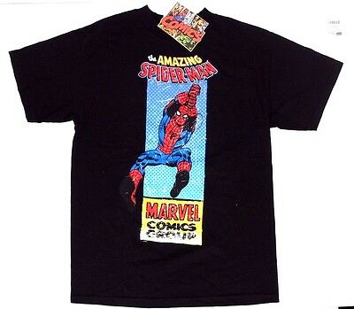 Marvel Comics The Amazing Spider-Man Men's Adult Graphic T-Shirt Sizes M L NWT