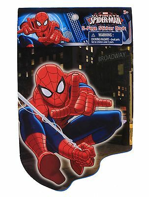 Marvel Comics Original Ultimate Spider-man 5-Page Sticker Book With 57 Stickers