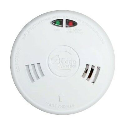 kidde slick mains powered optical smoke alarm with wireless capability 2sfw picclick uk. Black Bedroom Furniture Sets. Home Design Ideas