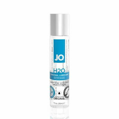 System JO H20 Original Water Based Lubricant 30ml Personal Lube Sex Aid