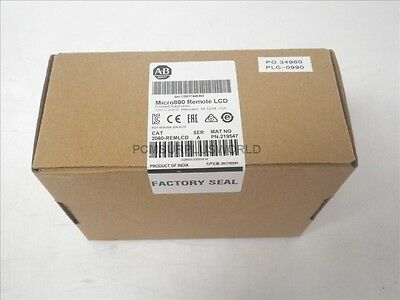 2080-REMLCD 2080REMLCD Allen Bradley Micro800 Remote LCD (New Sealed 2017)