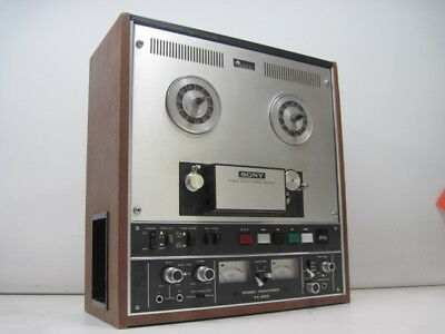 Vintage Sony TC-650 Reel to Reel Stereo Tape recorder AS Is