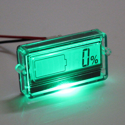 Battery Capacity Tester with LCD Indicator for 12V 24V 30V Lead acid Lithium LiP