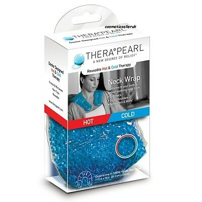 Hot Cold Ice Therapearl Neck Shoulder Pack Wrap Reusable Injury Relief
