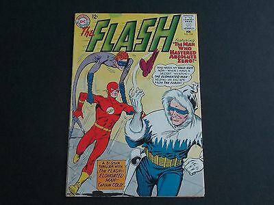 """The Flash #134 (Feb 1963, DC) """"The Man Who Mastered Absolute Zero!'' FN"""