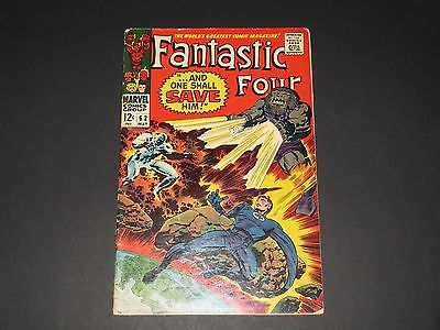 Fantastic Four #62 (May 1967, Marvel) FN-