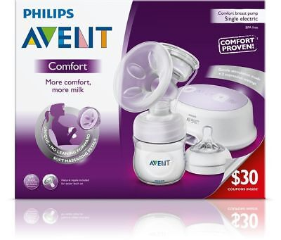 - NEW - Philips Avent COMFORT - Single Electric Breast Pump  - SCF332/11