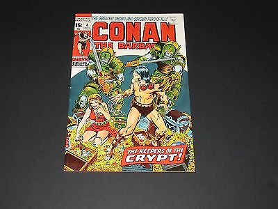 """Conan the Barbarian #8 (Aug 1971, Marvel) """"The Keepers Of The Crypt!'' VF-"""