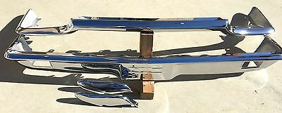 Thunderbird Front New Triple Chrome Plated Bumper 64-65 1964-1965 Ford Oem
