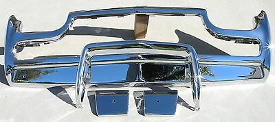 Thunderbird Front New Triple Chrome Plated Bumper 61-63 1961-1963 Ford Oem