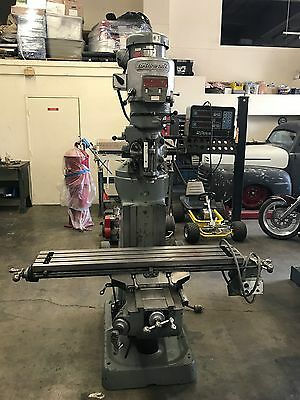 Bridgeport Series 1 knee Mill  48x9 with Bausch & Lomb AcuRite 3 DRO