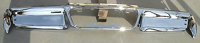 Lincoln Mark Iii 3 New Triple Plated Chrome Rear Back Bumper 1968-1969 68-69 Oem