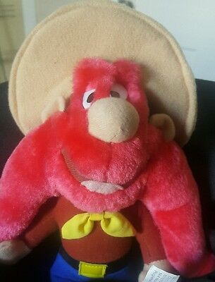 "Looney Tunes Yosemite Sam Plush Vintage Stuffed Toy 10"" Warner Bros ACE"
