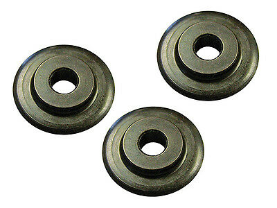 Faithfull Pipe Cutter Replacement Wheels (Pack of 3)