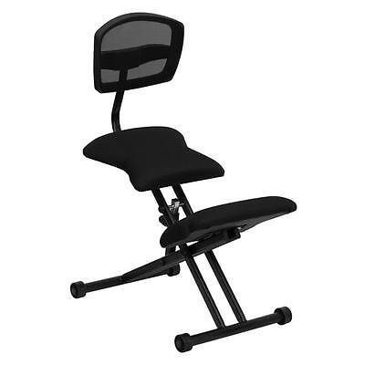 Office Chair Ergonomic Kneeling Adjustable Stool Padded Seat Knee Rest Posture