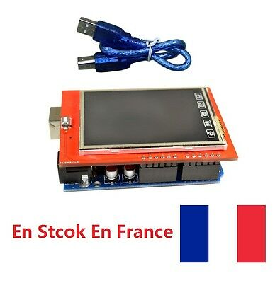 2,4 Pouces TFT LCD display touch screen SD card 240 x 320 Pour Arduino UNO R3