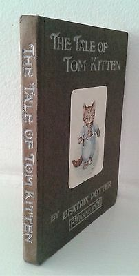 The Tale of Tom Kitten by Beatrix Potter BOOK Vintage early edition pre 1917