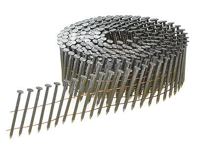 Bostitch 2.8 x 50mm Coil Nails Ring Shank Galvanised Pack of 9,000