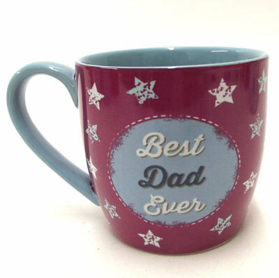 Best Dad Ever Mug Cup Ceramic China Fathers Day Coffee Tea Gift Mugs Cups Decor