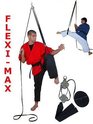 Fleximax LEG STRETCHER KICK TRAINER More than a PULLEY Fast Improvement Video!