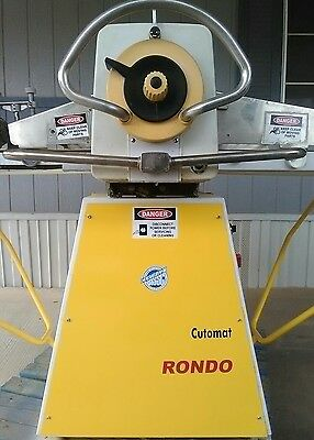 2 RONDO SSO68C sheeters refurbished laminated pastry dough donut FREE SHIPPING
