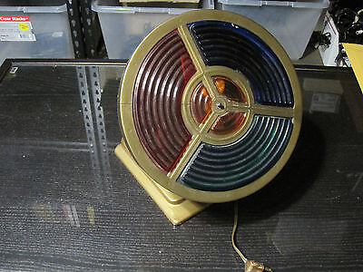 Vintage Electric Color Wheel For Aluminum Christmas Tree & Indoor Decoration
