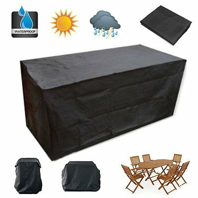 Large Garden Heavy Duty Patio Waterproof Furniture Cover Sofa Outdoor Protection