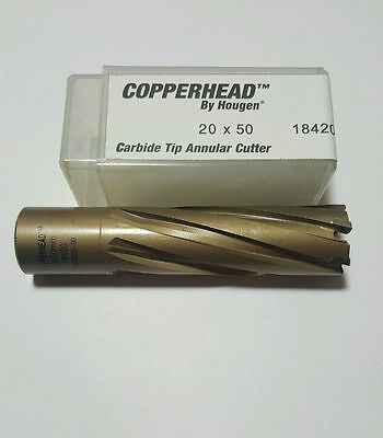 Hougen Copperhead™ 20 X 50 (metric) Carbide Tip Annular Cutter Part No. 18420