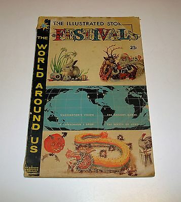 Vintage 1960 The Illustrated Story Of Festivals ~Issue Number 17