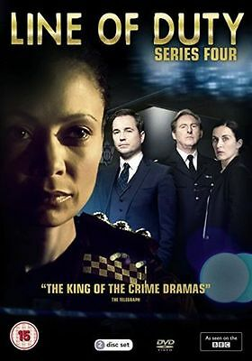 LINE OF DUTY series/season 4 DVDs region 2 new Fast Dispatch