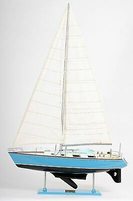 "Bristol  Sailboat 29.3"" Built Wooden Model Yacht Assembled"
