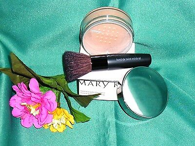 Mary Kay Mineral Powder Loose * Ivory Beige Bronze Translucent Brush