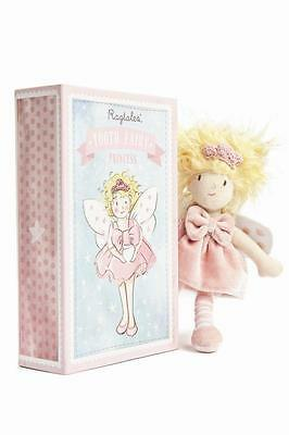 NEW Ragtales Tooth Fairy Doll - Girl Princess - with Storage Box