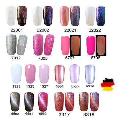 Elite99 UV Nagellack Gel Polish Gellack Nagelgel Gelish Glitzer Metal Farbgel