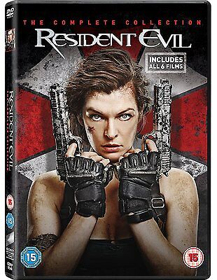 Resident Evil The Complete Collection DVD Box Set UK Region 2 New and Sealed