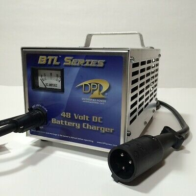 Club Car Golf Cart Battery Charger 48 Volt 13 Amp DS or Precedent - 1996 and Up