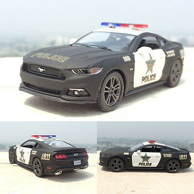 Ford 2006 Mustang GT 1:38 Police Alloy Diecast Model Car Pull Back Vehicle TOY