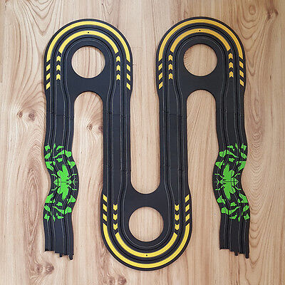 Micro Scalextric 1:64 Track Extension Set - Wiggle & Triple Hairpin #TC