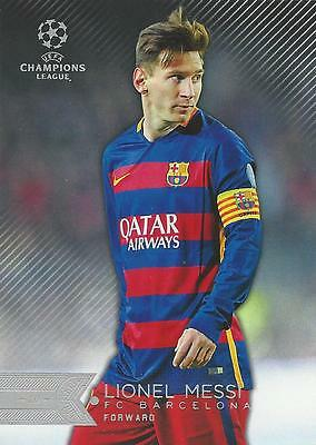2015-16 Topps Uefa Champions League Showcase All 3 Messi Cards