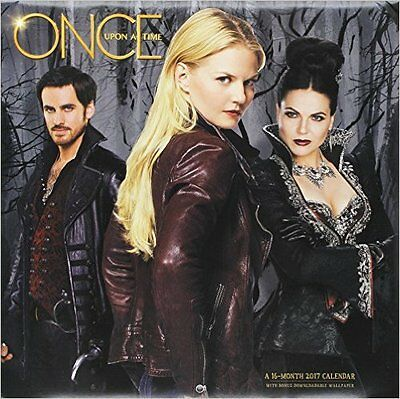 Official US Once Upon a Time 2017 Calendar - brand new and sealed.
