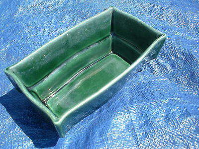 Vintage Hull U.S.A Pottery F82 Green Planter Antique No Chip No Cracks