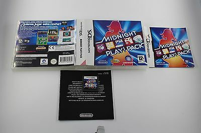 Nintendo Ds Nds Midnight Play! Pack Completo Pal España