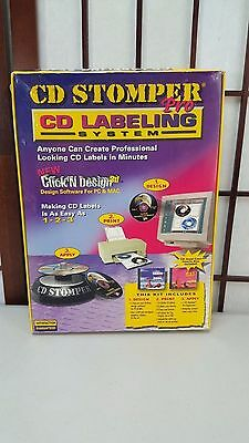 Avery CD Stomper Pro Applicator Labeling System Software Labels Design Print