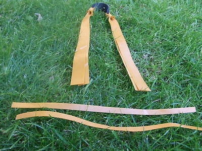 Theraband Gold Elastic Band Set For Catapult, Slingshot, Catty. Hunting Bands