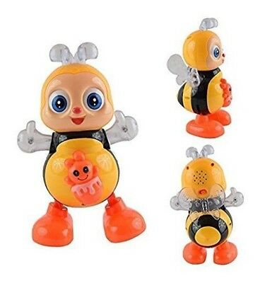 Light-Up-Dancing-Toy-Singing-Bee-Musical-LED-Animals-Toys-GN Enterprises