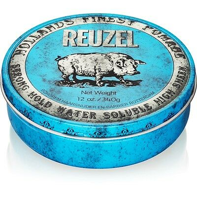 Reuzel Strong Water Soluble Pomade Blu 113 g